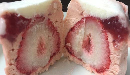 大丸松坂屋のお中元 丸ごと苺アイス、東山茶寮 パイサンド