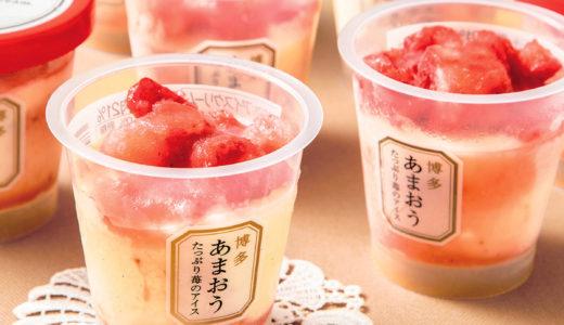 大丸松坂屋 アイスのひんやりギフト たっぷり苺のアイス、千本松牧場