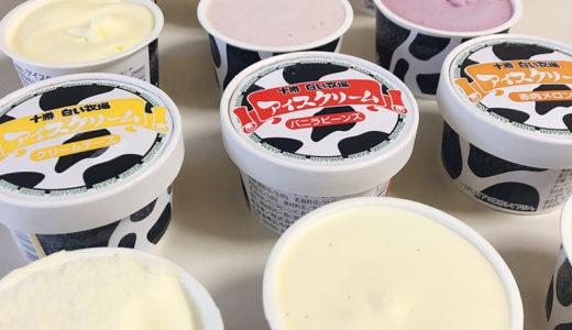 大丸松坂屋 お中元におすすめ冷たいアイス 十勝ドルチェ プレミアムアイス、十勝白い牧場アイスクリーム