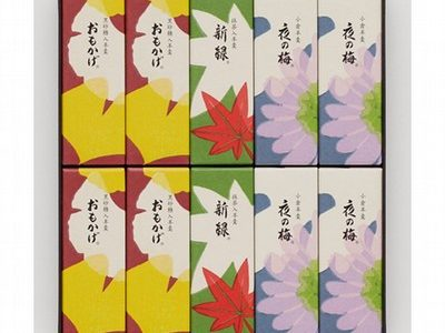 京王百貨店 敬老の日のギフト『とらや 秋小形羊羹10本入』