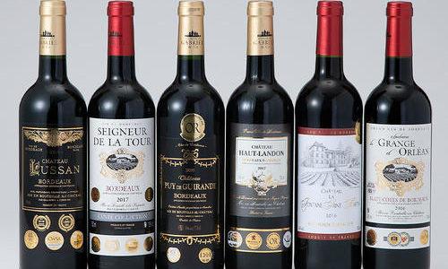 高島屋ワインのセール『5冠2本、4冠、3冠、W金賞含む金賞受賞ボルドー赤ワイン6本セット』