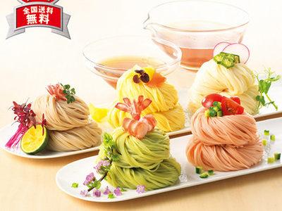 京王百貨店お中元『八王子の野菜を使った 三輪素麺』