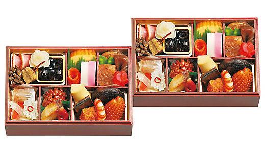 三越伊勢丹の2020年おせち『日本料理 なだ万』おせち重詰一段